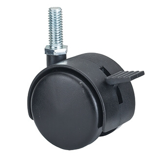 40mm Twin Caster